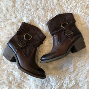 Lucky Brand | Boxer 2 Short Brown Ankle Booties